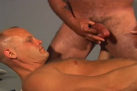 Two worthy-looking Sailors nail Each Other Real Hard