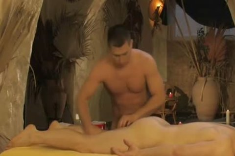 wild young Gaywads Have An Oily pooper Fingering Massage