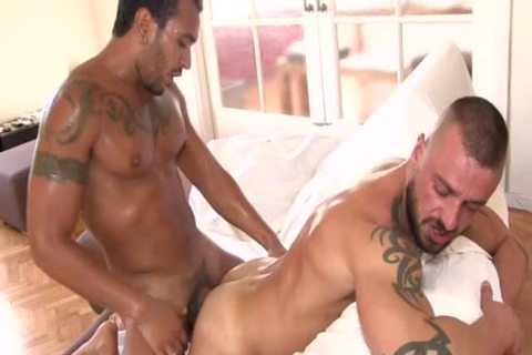 Lucio Saints arsehole Is permeated By David Avila
