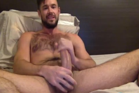 Mike De Marko Jerks His throbbing Porn dong